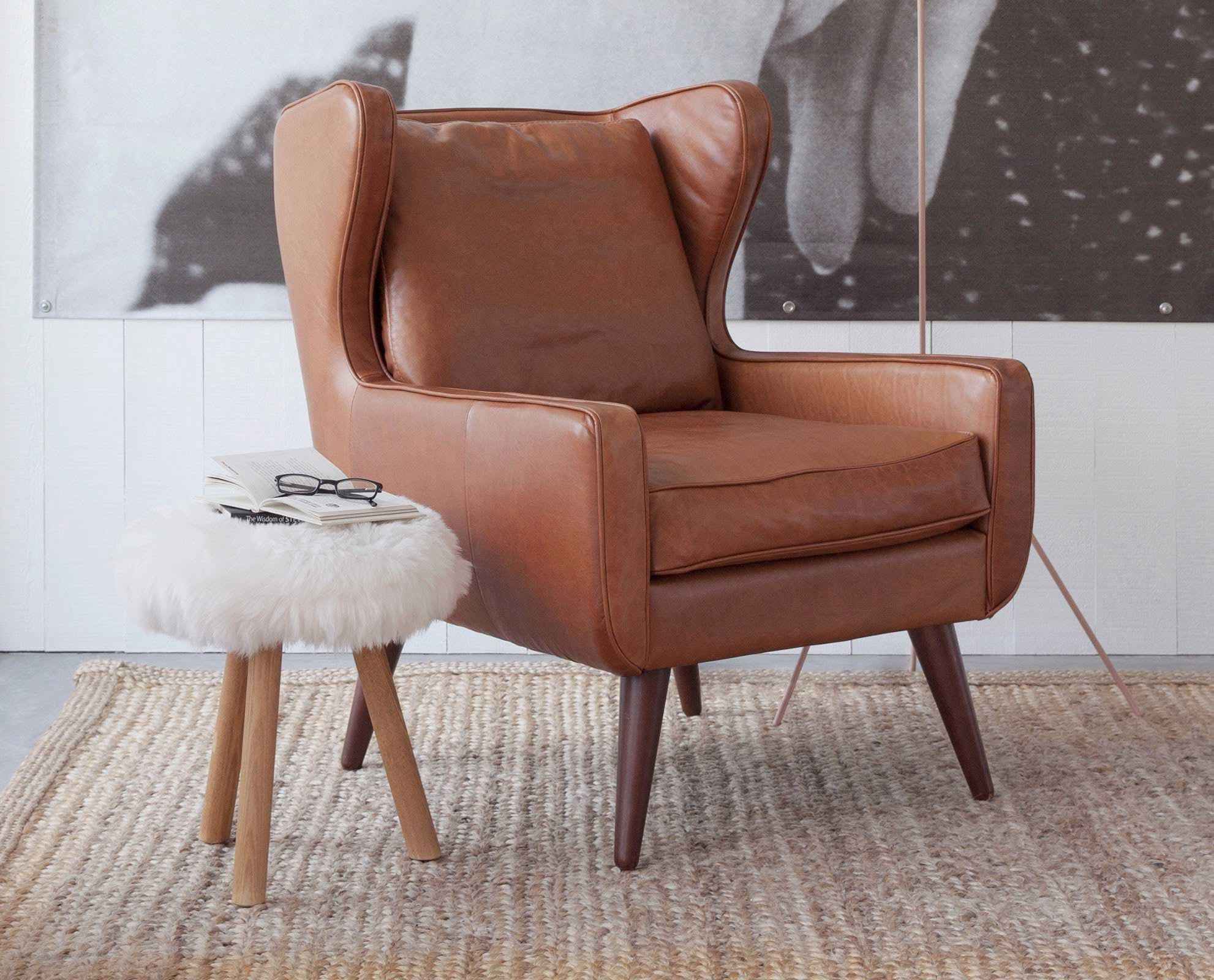 Giesen Leather Chair – DaniaFurniture