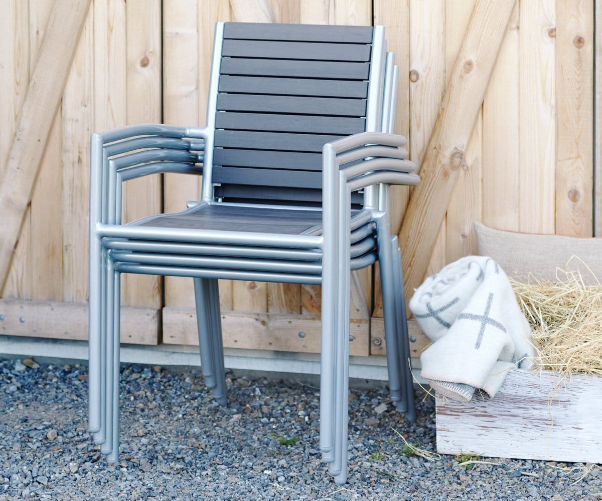 Modern outdoor arm chair
