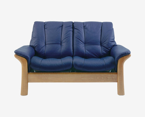 Stressless® Windsor Low Back Loveseat