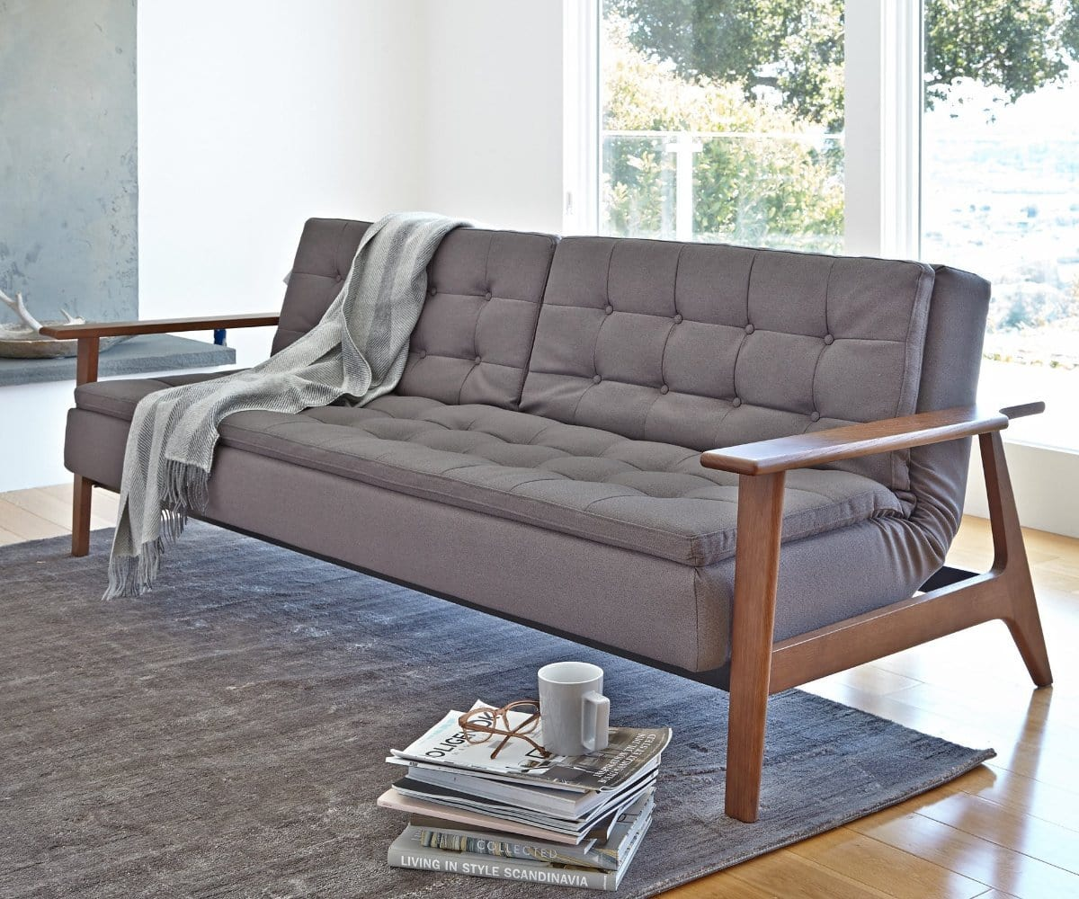 Tellima convertible sofa dania furniture for Divan convertible