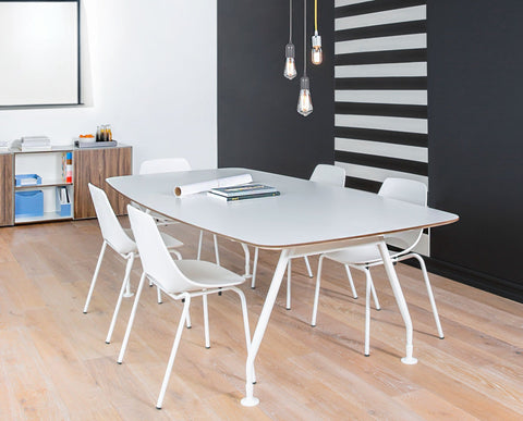 Modern Scandinavian style workplace conference table