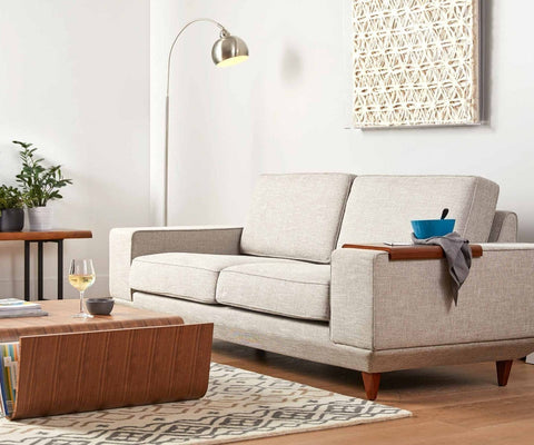 Mid-century modern living room furniture