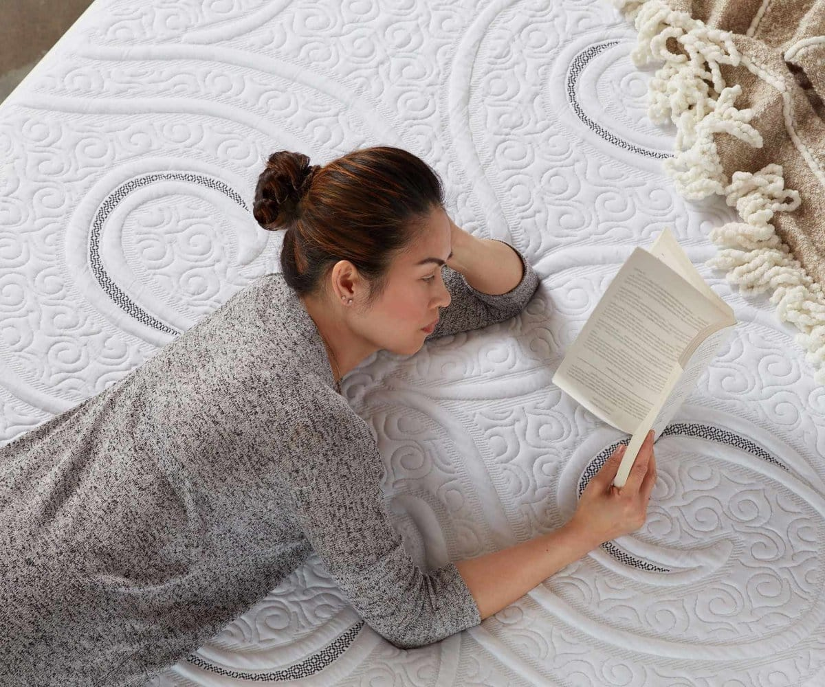 Cozy memory foam cool mattress