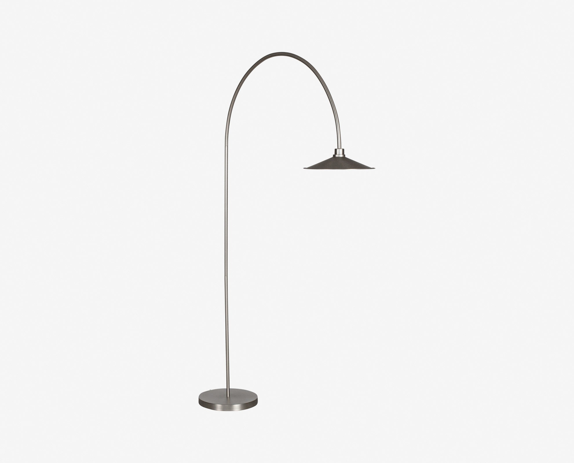 Amazing DNU Skal Arch Floor Lamp   Nickel