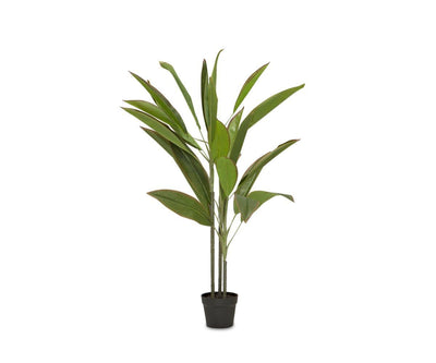Short Potted Faux Bird of Paradise Floor Plant