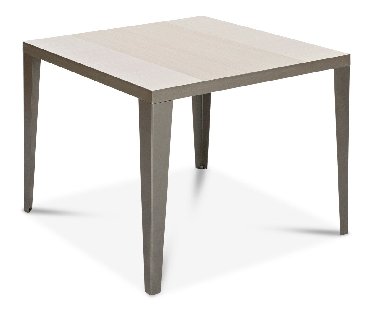 Elegant wood gloss top end table