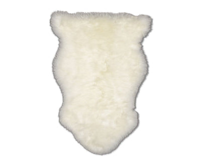 Sheepskin Throw - Ivory