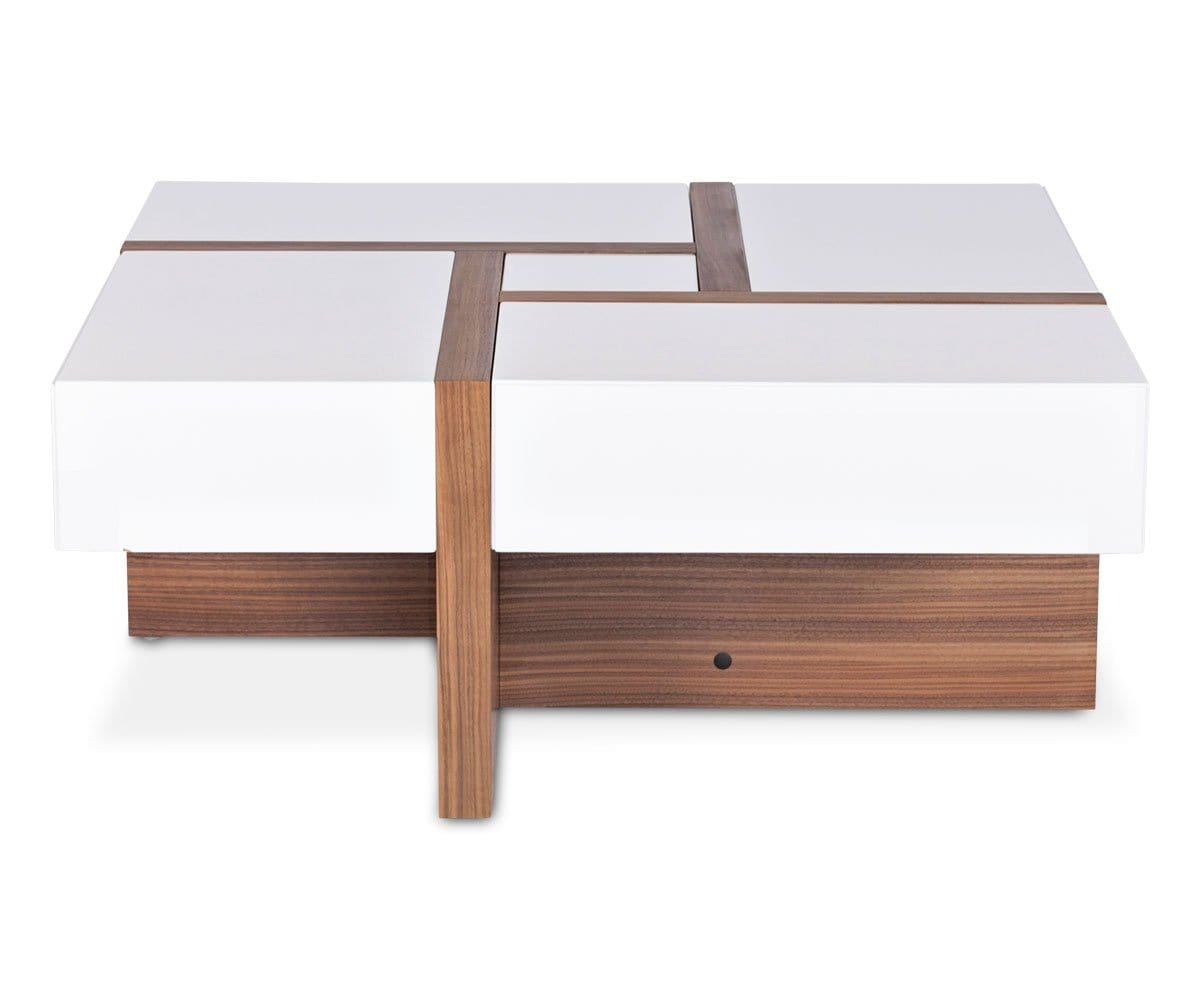 coffee table with drawers. Prindy 4-Drawer Coffee Table With Drawers .