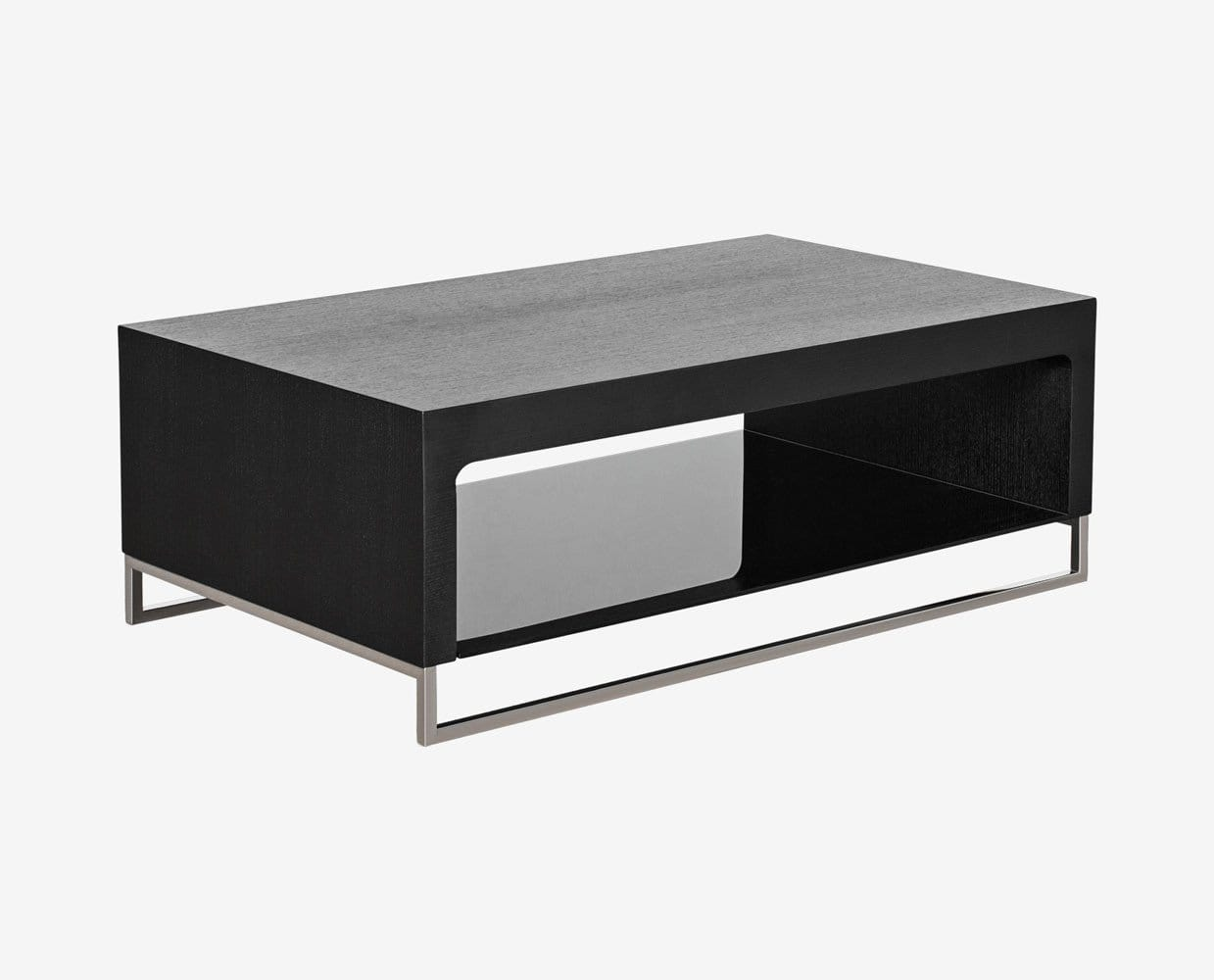 Sculptural display coffee table