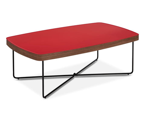 Pavlo Coffee Table - Red