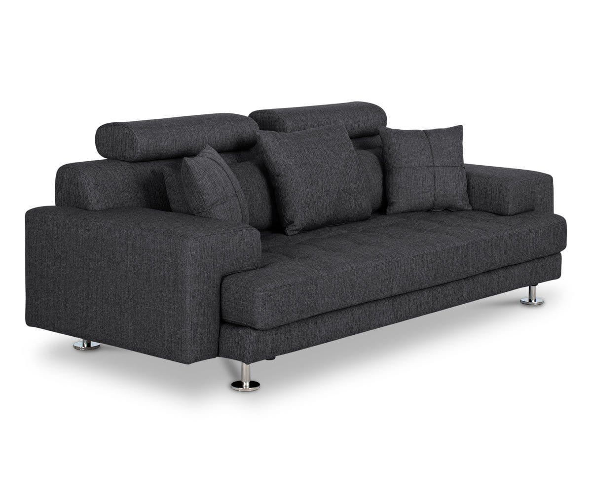 Modern low-profile sofa