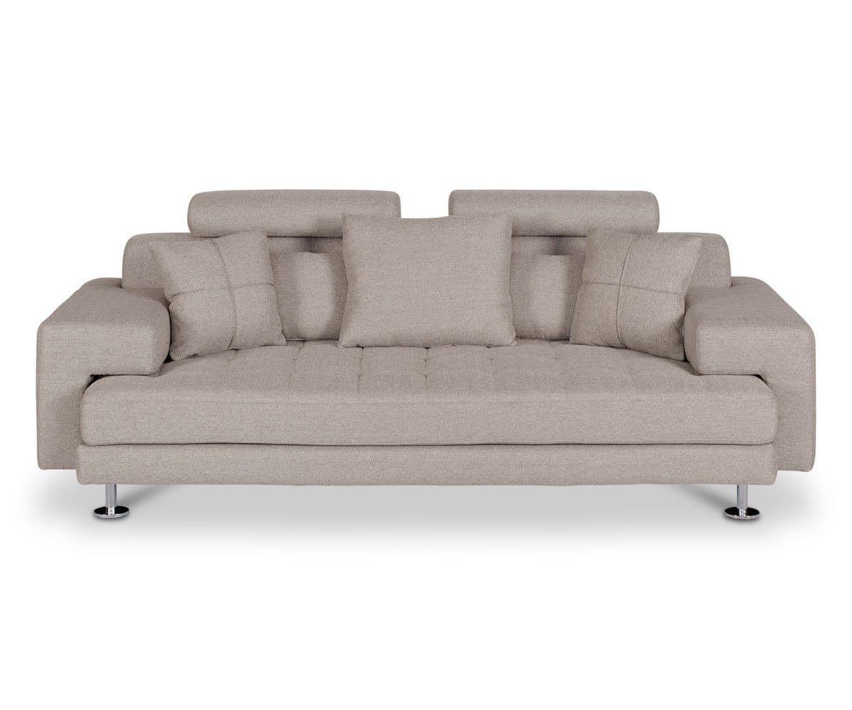 Modern tufted sofa