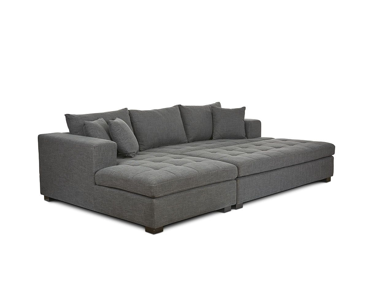 Mirak Sectional Right Seated Chaise Dania Furniture