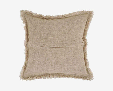 Fringe textured nordic style modern chic pillow