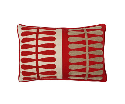 Auning Pillow Cover - Red