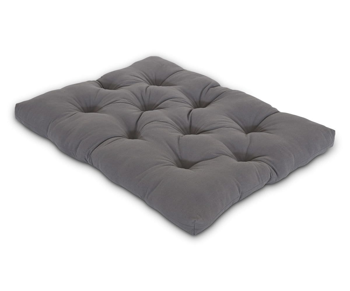 Dovina Floor Pillow - Grey