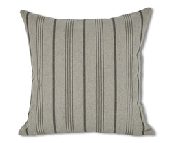 Kellu Stripes Pillow Cover - Grey