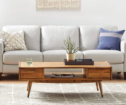 Mid-century modern nordic style coffee table