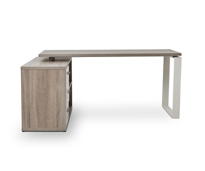 Gammel Desk with Reversible Storage Return