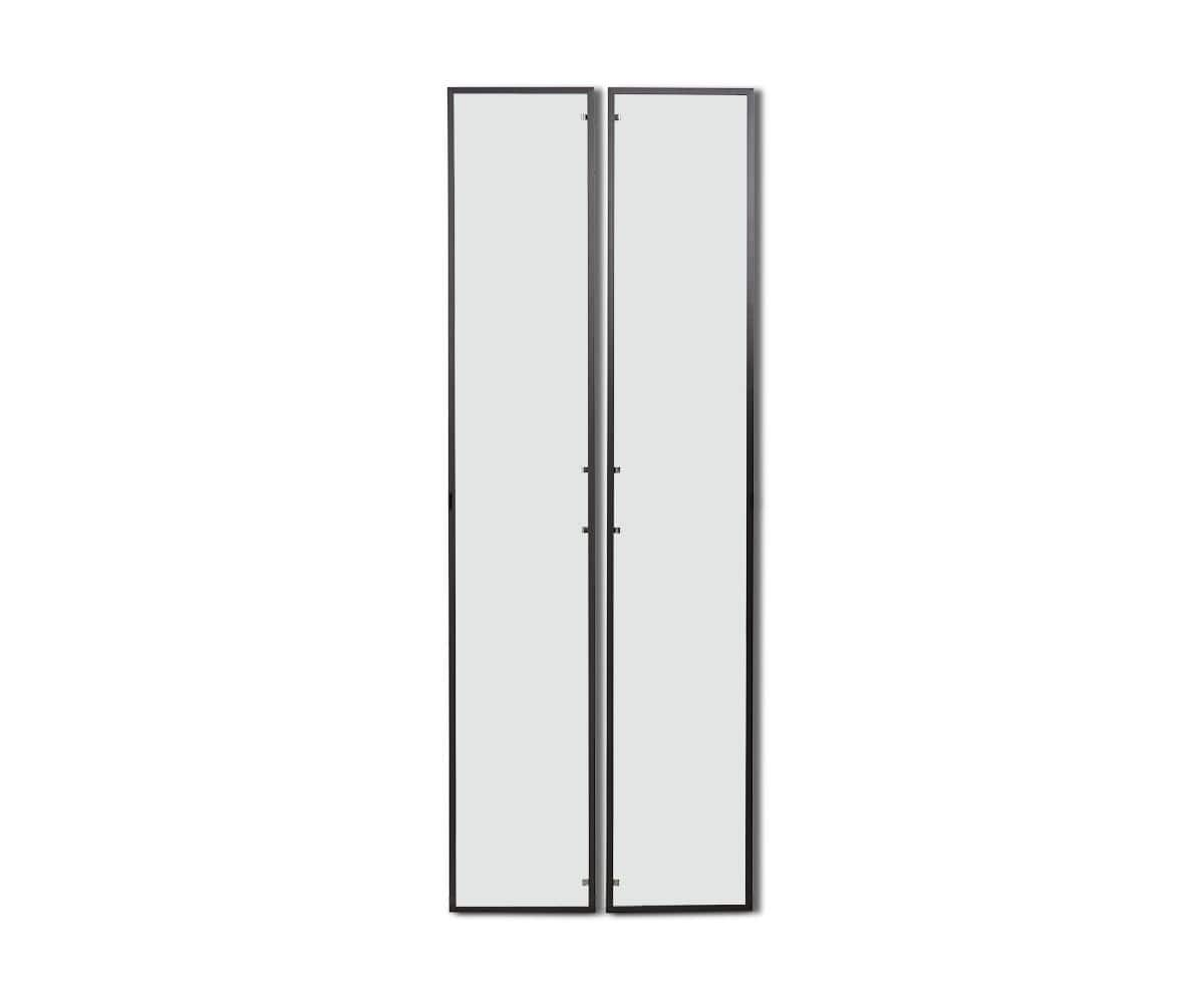 Gammel High Bookcase Single Glass Door