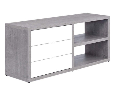 "Sten 60"" Desk With Storage Return"