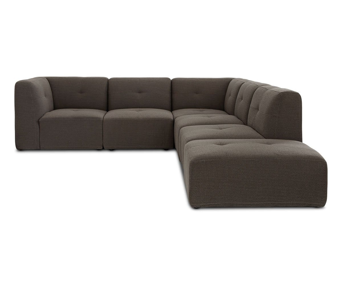 cozy deep seated sectional