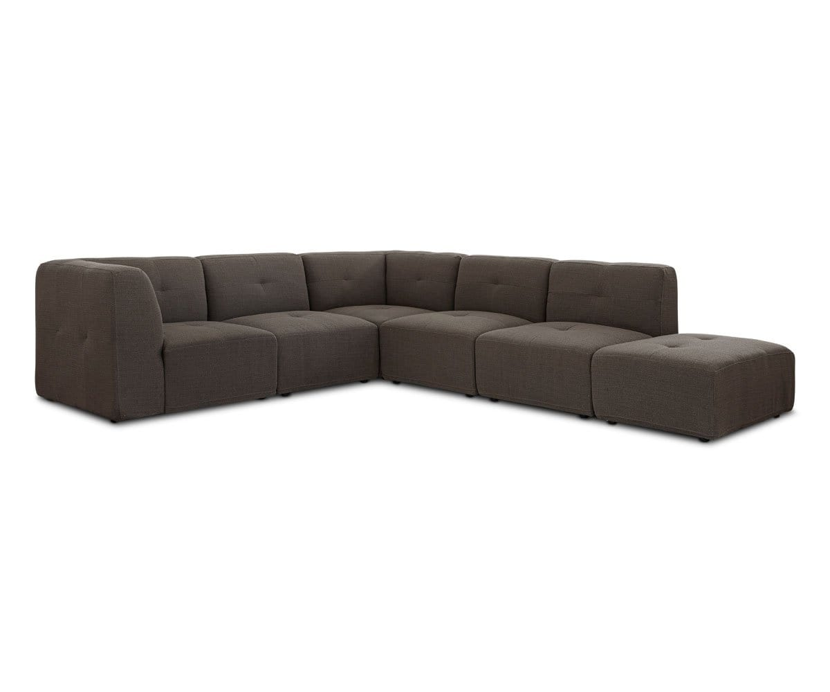 cozy cushioned minimalistic sectional