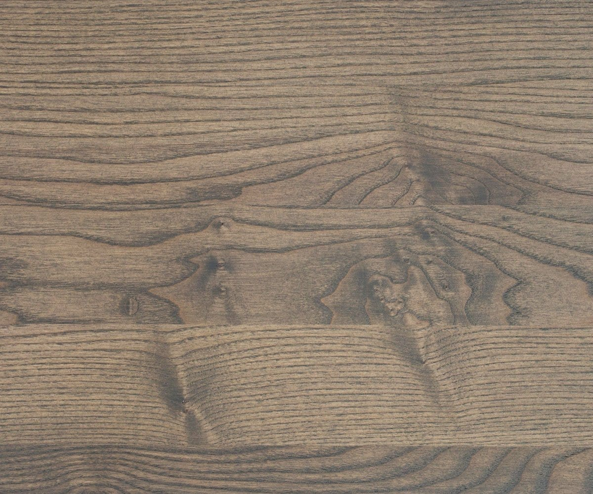 Natural ash wood satin stain