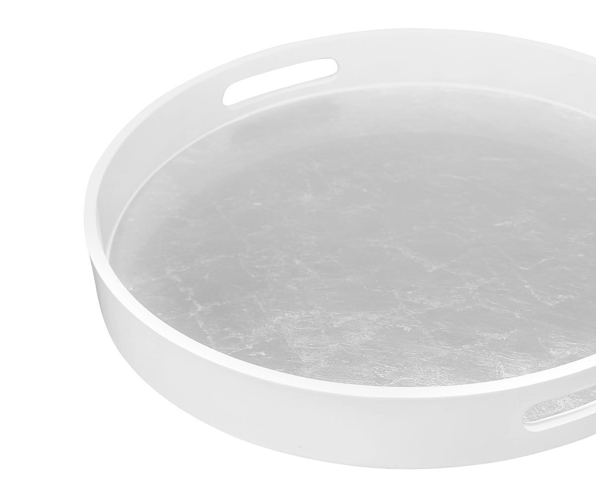 Arnes Round Serving Tray Dania Furniture