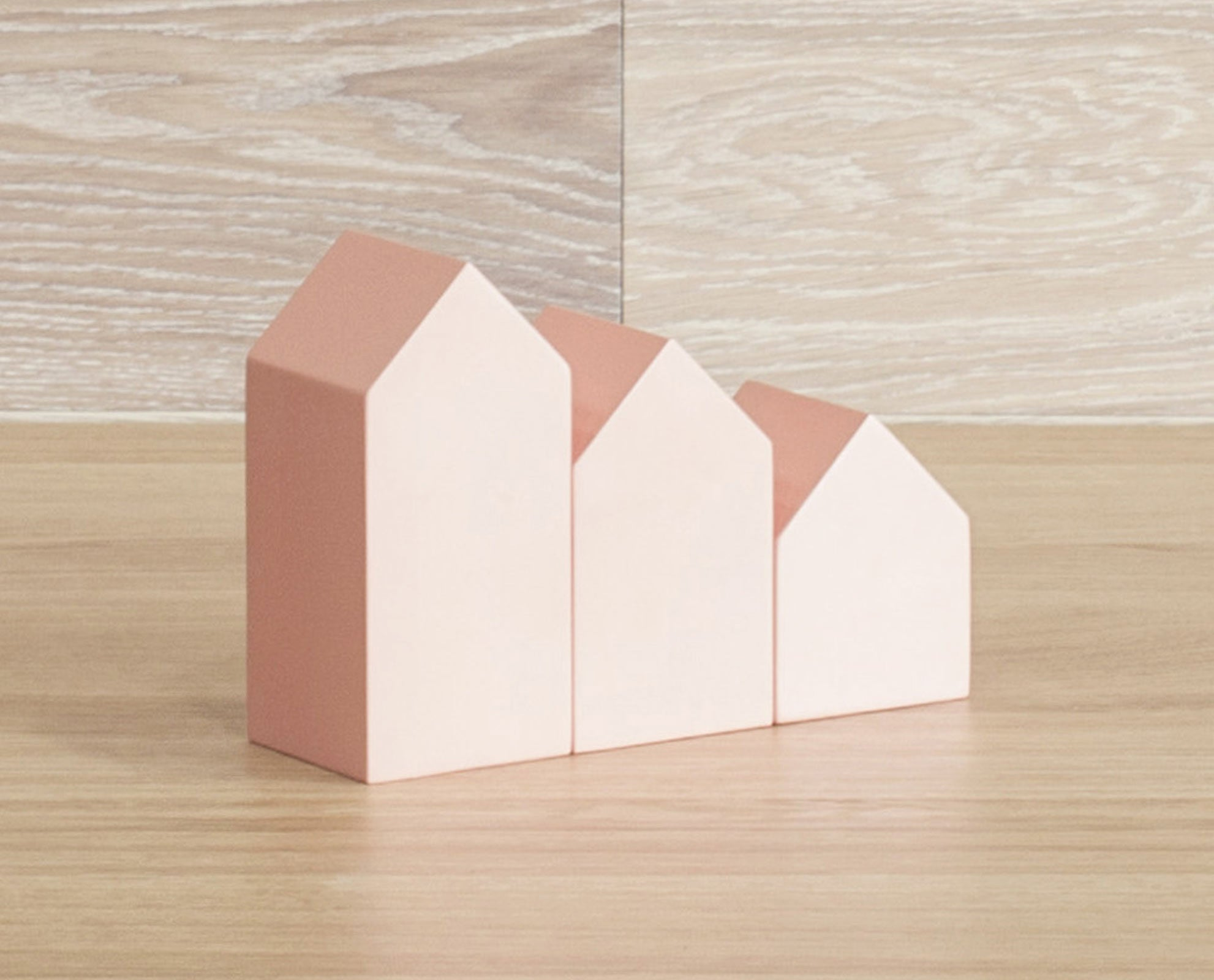 Canal Houses Set Of 3