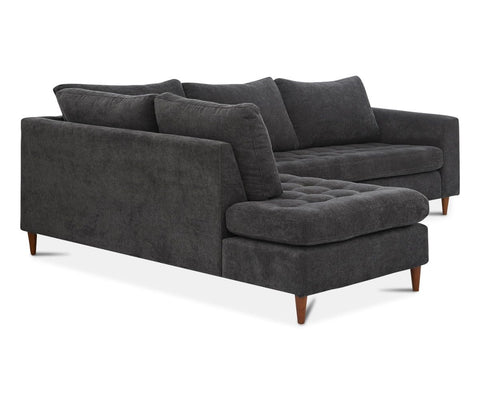 Modern Scandinavian chaise sectional