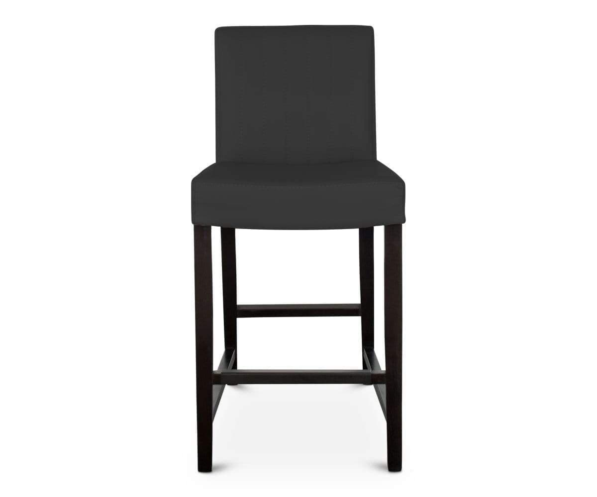 Barrima counter stool black venge