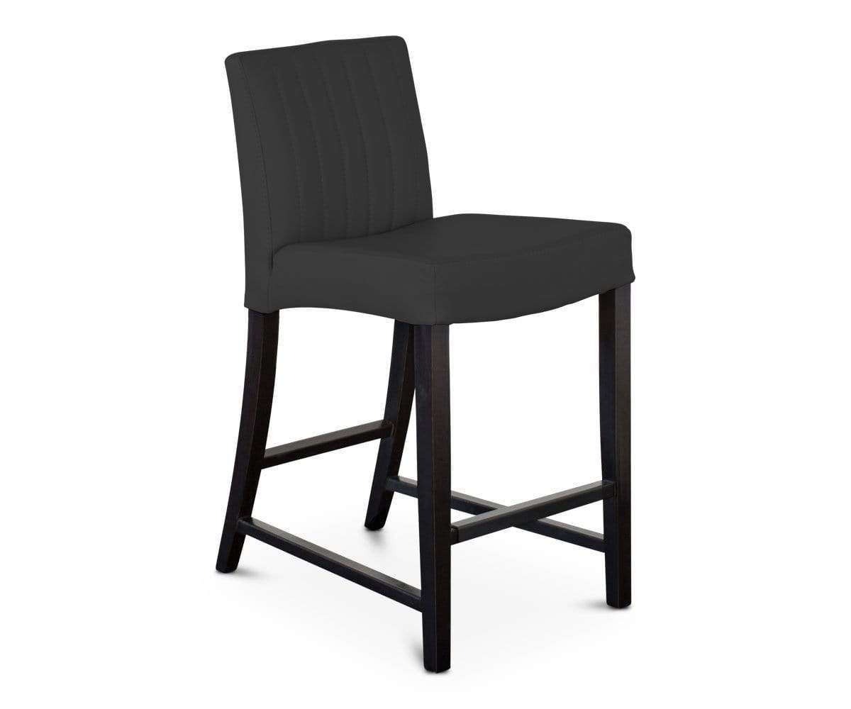 Barrima Counter Stool - Black/Venge