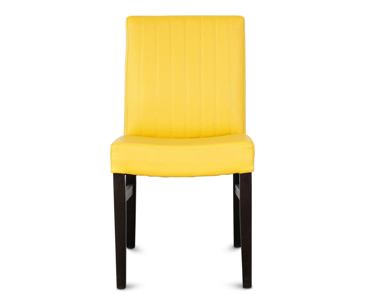 chairs astra leather with set high shop lightbox excel sets yellow meter gloss dining chair steel