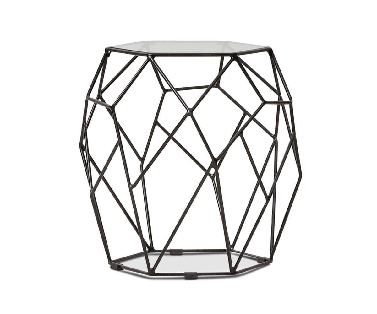 Oona End Table - Black