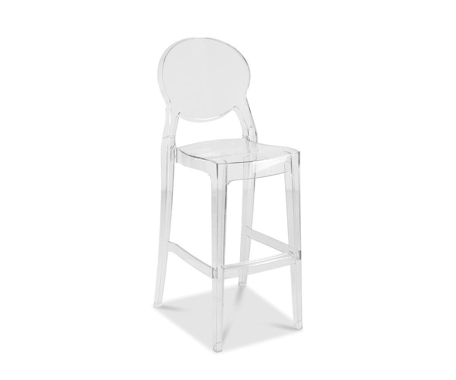 Prisma Clear Bar Stool