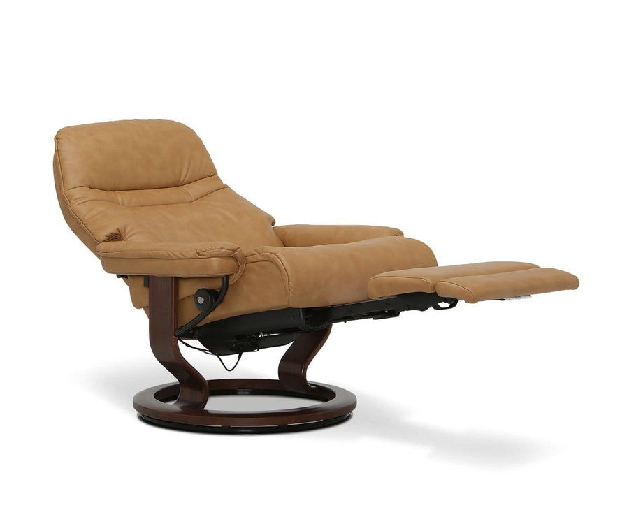 Stressless® Sunrise Power Leg & Back Recliner