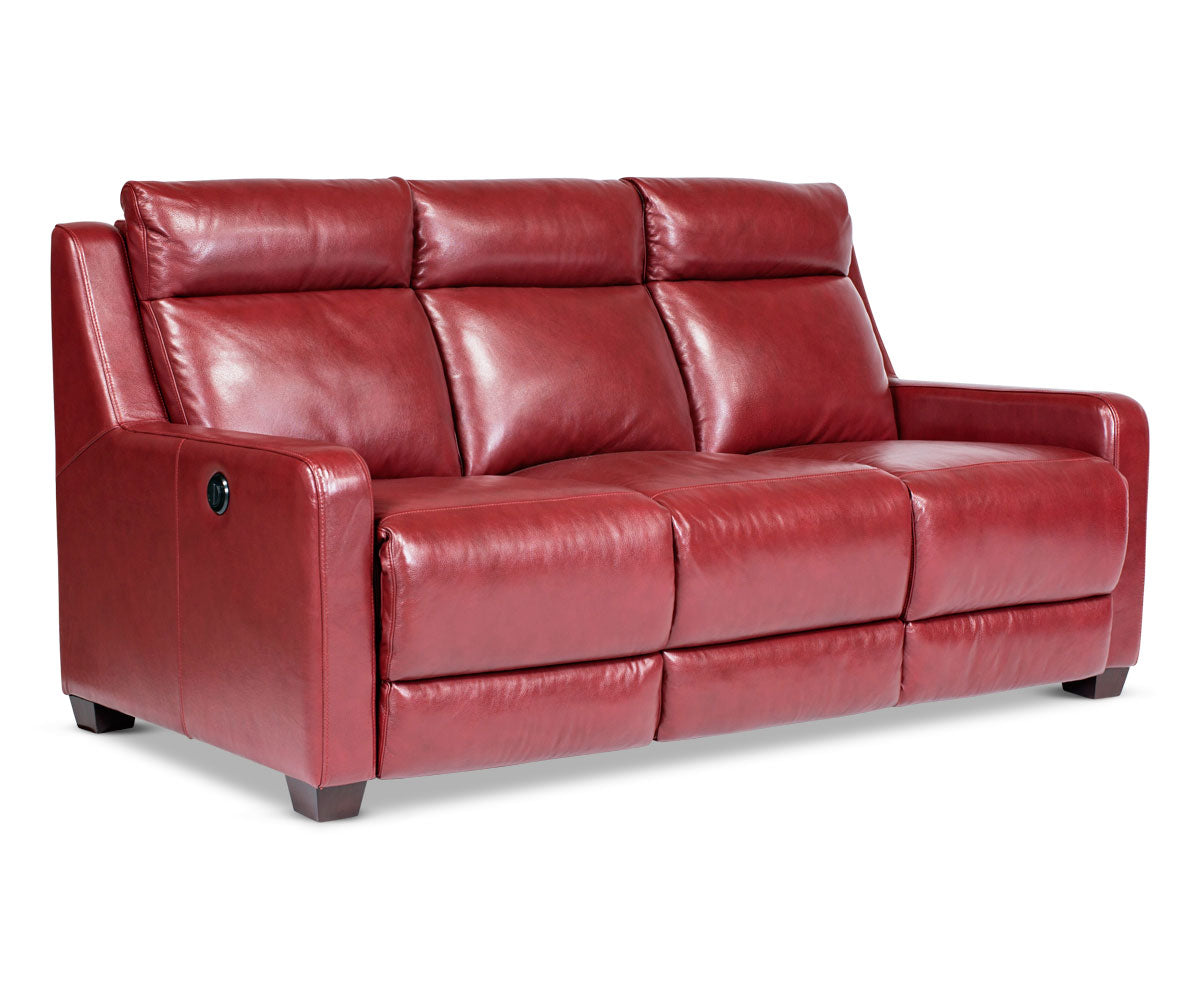 Red Modern Tailored Sofa