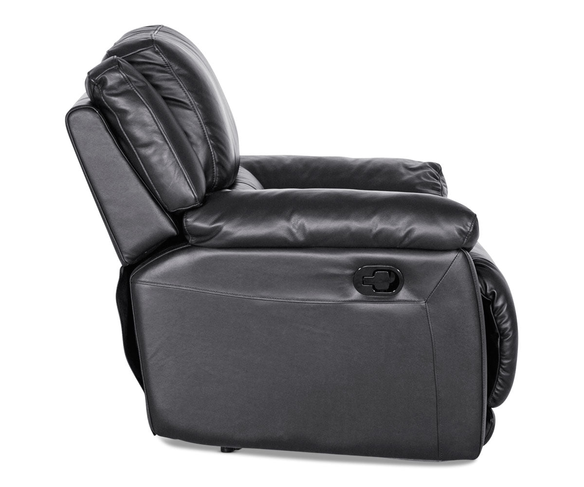Modern leather adjustable recliner chair