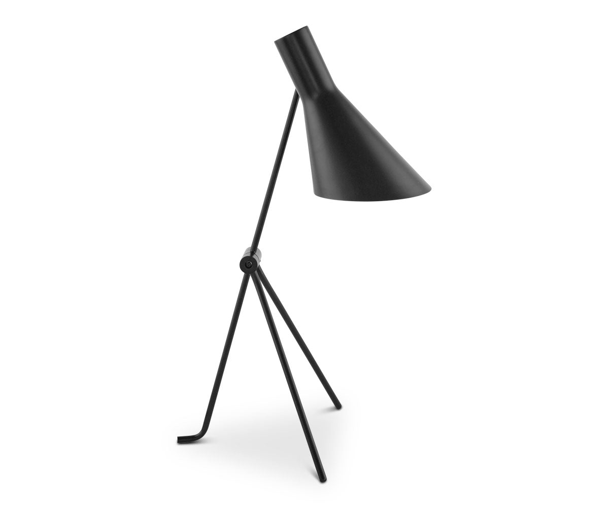 Spotlight Table Lamp - Black