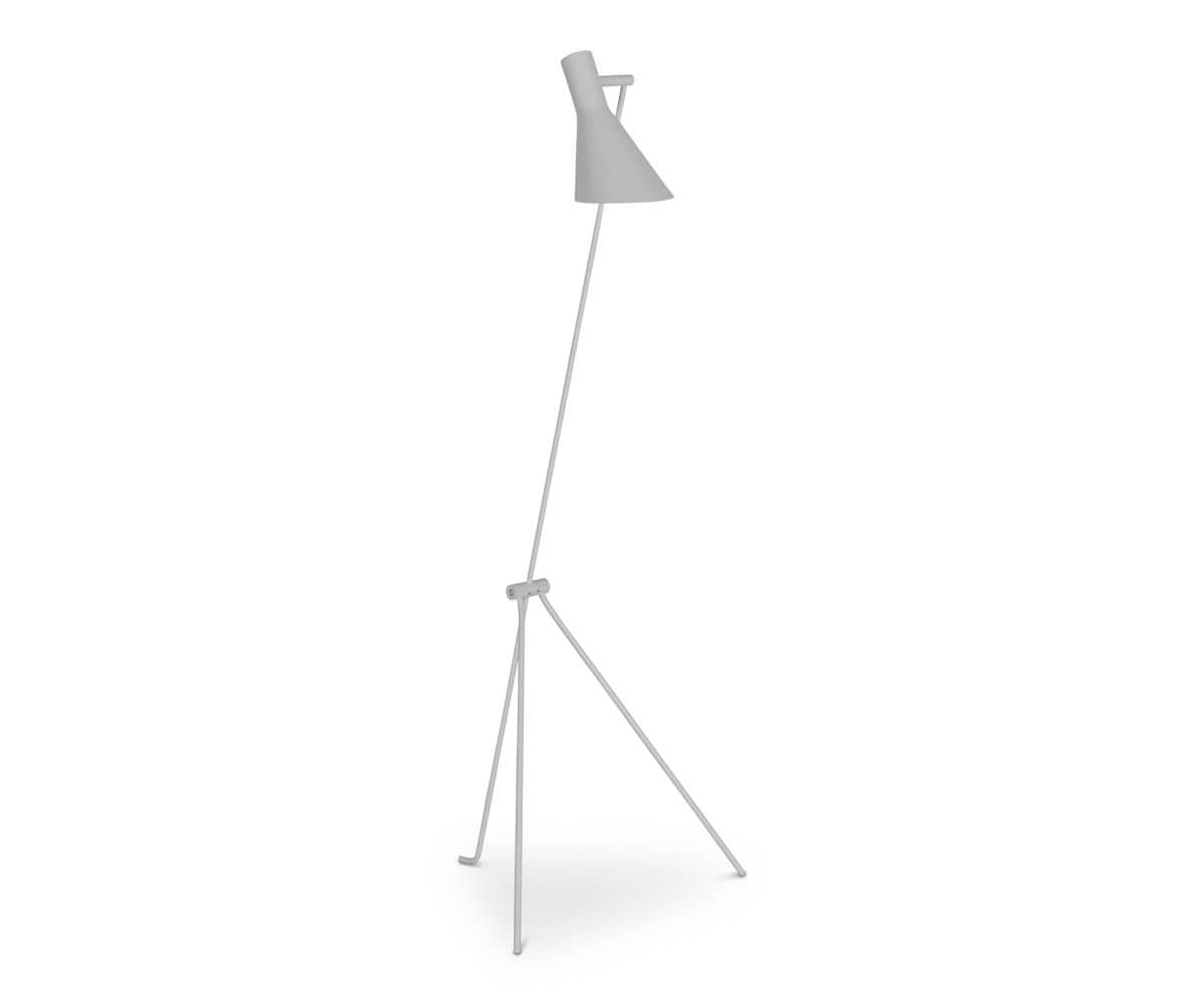 Spotlight Floor Lamp - White