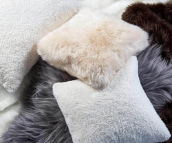 Sheepskin Throw - Grey
