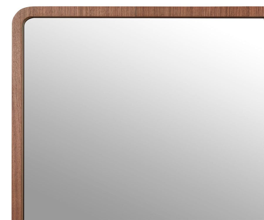 "Baptisia 74"" Mirror - Walnut"