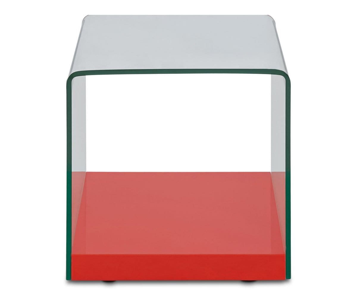 Irene End Table - Red