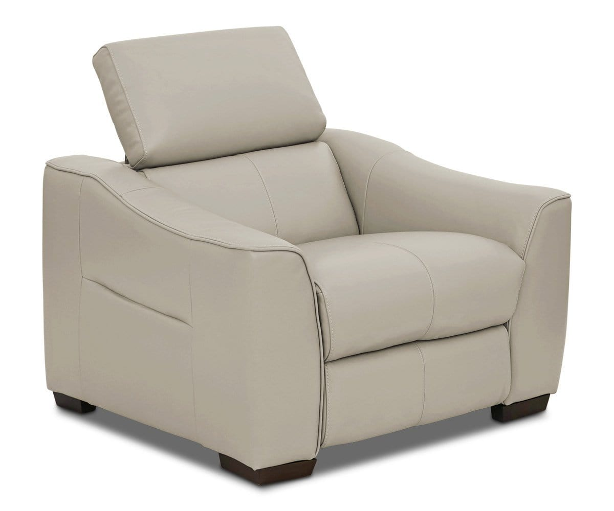 Megalo Leather Power Recliner