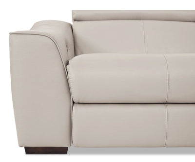 Megalo Leather Power Reclining Sofa