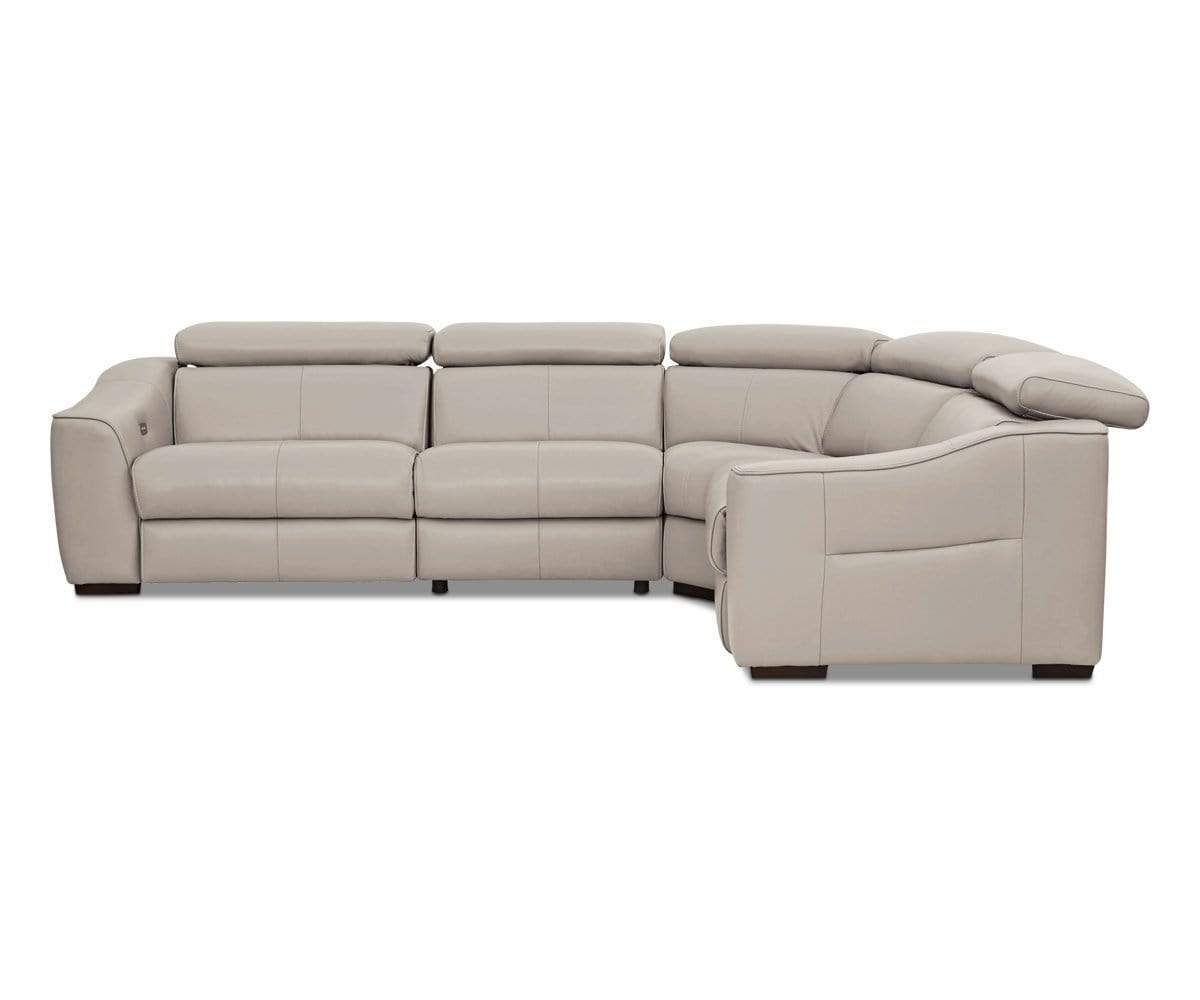 Megalo Leather Power Reclining Sectional – Dania Furniture