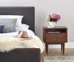 Bedroom accent modern design nightstand