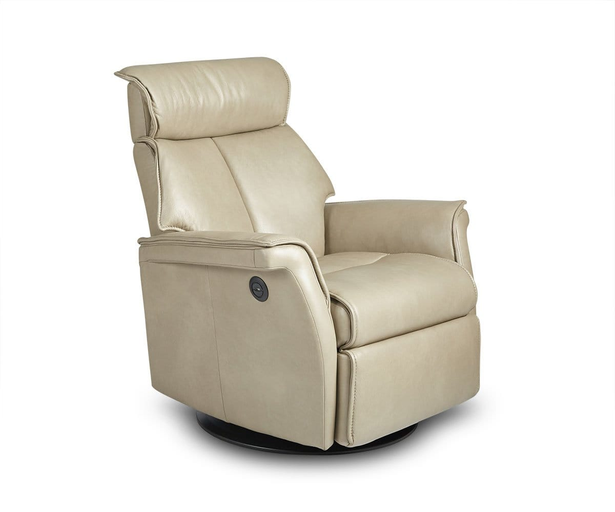 Korsvik Leather Power Recliner - Medium