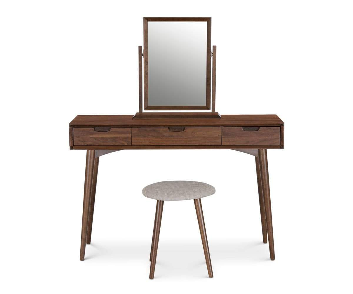 Excellent Vanity Table With Drawers Dania Furniture Download Free Architecture Designs Terchretrmadebymaigaardcom
